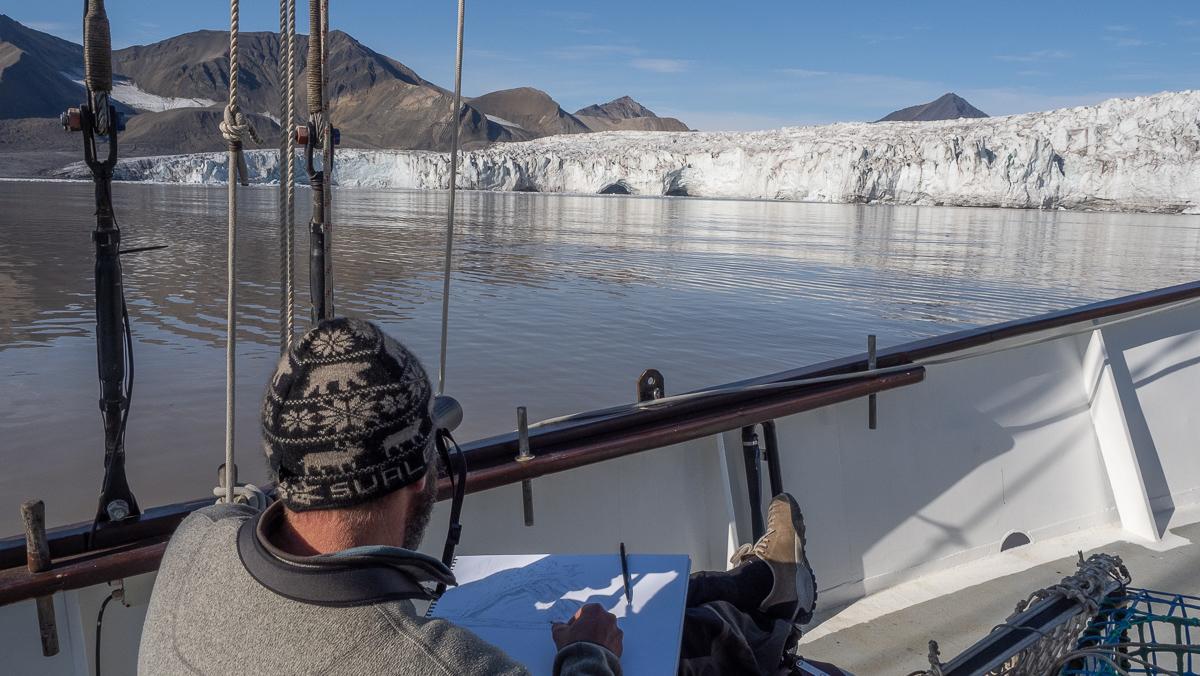 arctic expedition pierre baumgart