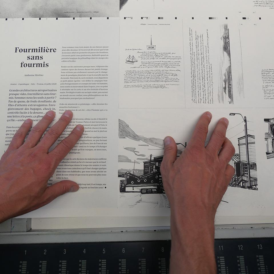 Sillages-publication
