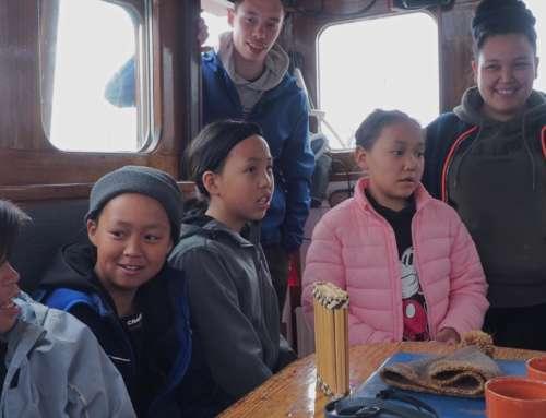 Capsule à bord n°20 : Rencontres dans la baie de Qôrqut